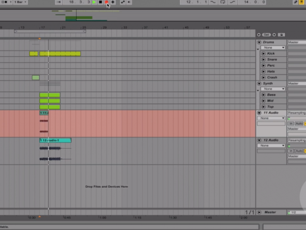 Ableton Quick Tip – Reverse a sample in Ableton