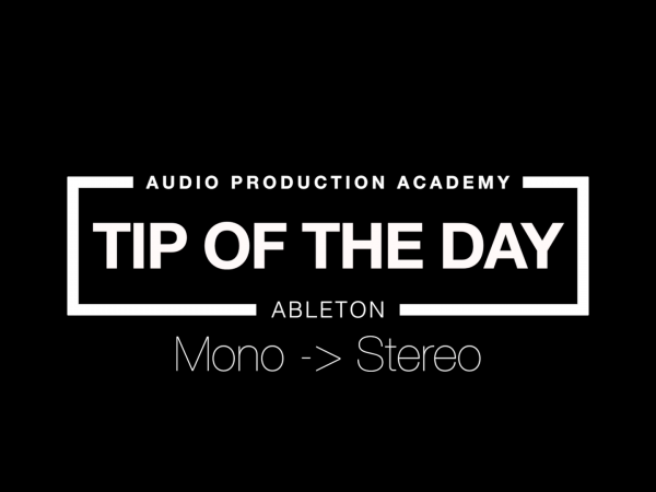 Tip Of The Day – Mono/Stereo