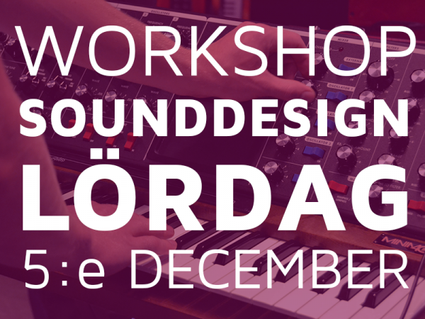Workshop i Sounddesign
