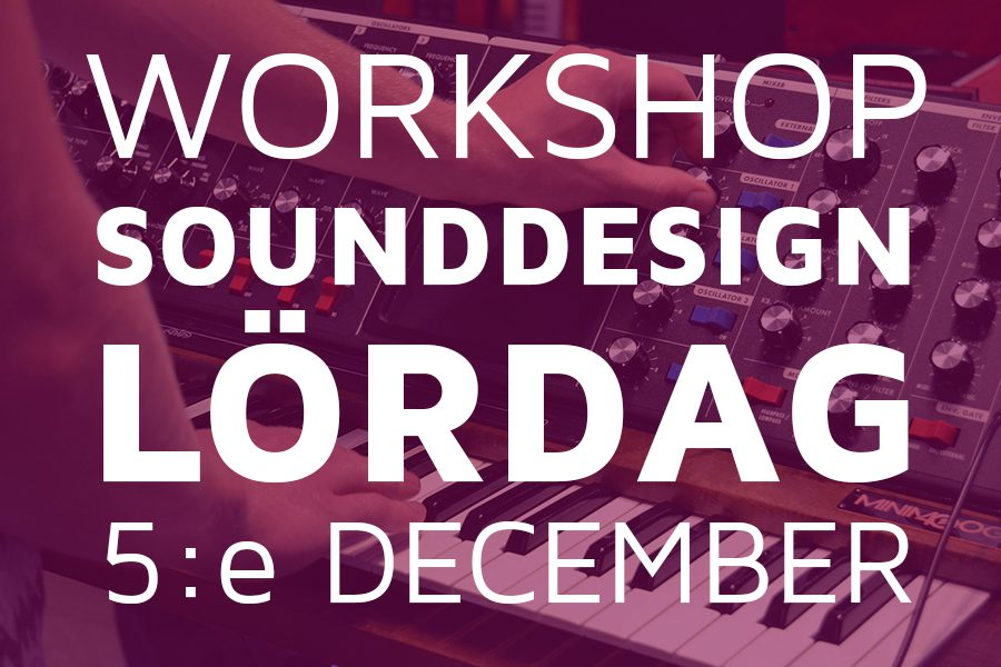 workshop sounddesign 1