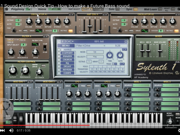 Tip of The Day – How to make a Future Bass sound