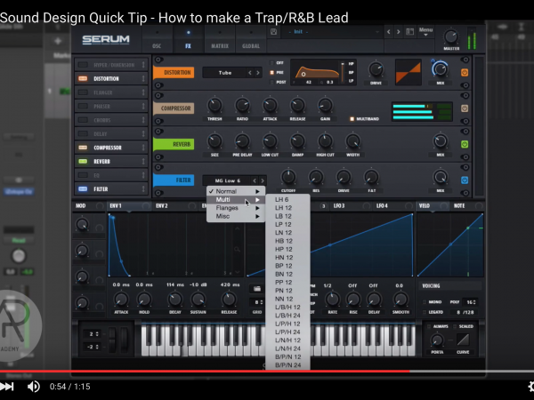Tip of The Day – How to make a Trap/R&B Lead