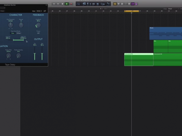Logic Pro Quick Tip – Sidechained FX Tail