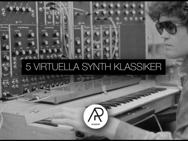 5 Virtuella Synth Klassiker