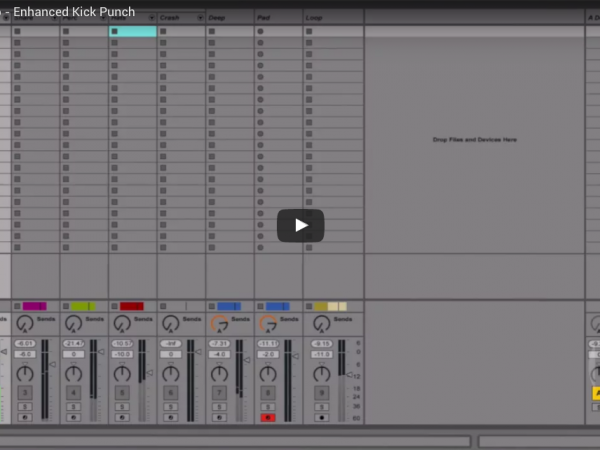 Ableton Quick Tip – Enhanced Kick Punch