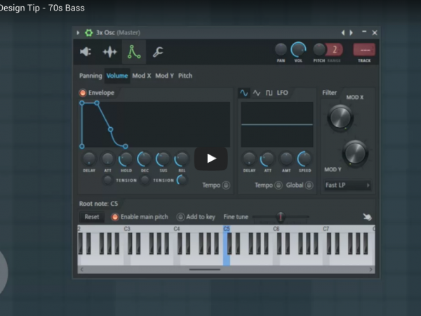FL Studio Sound Design Tip – 70s Bass
