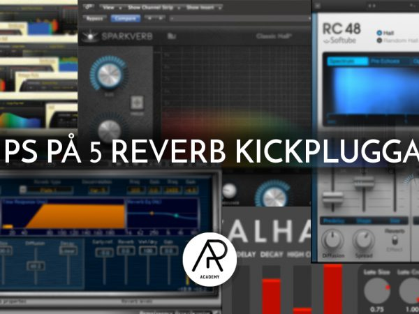 Tips på 5 Reverb Plugins