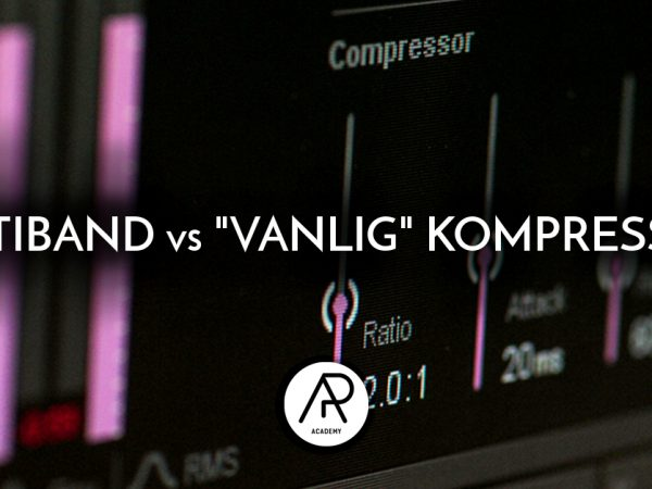 "Multiband vs ""Vanlig"" Kompression"